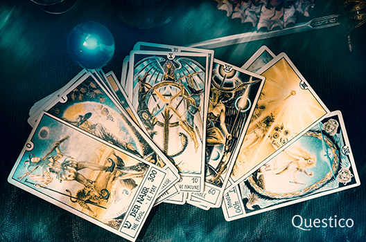 Crowley Tarot offenes Deck