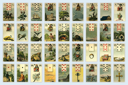 Lenormand Legesystem