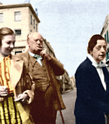 Aleister Crowley und Lady Frieda Harris